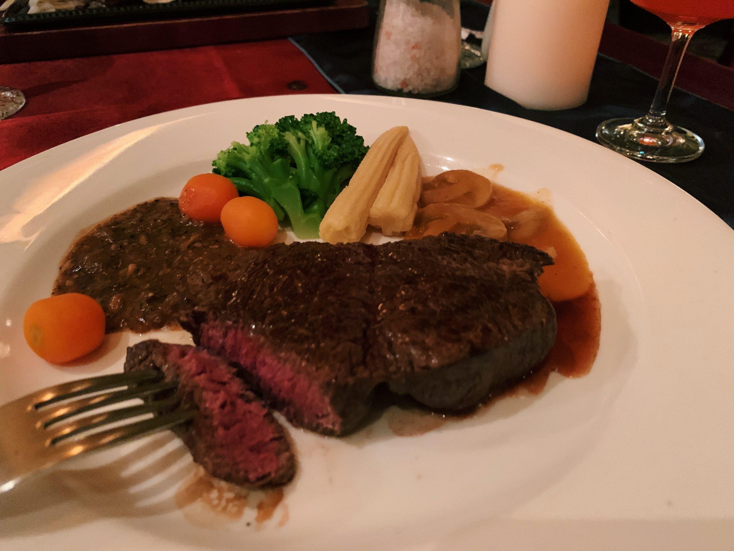 台北約會慶生推薦老字號牛排館|沾美西餐廳
